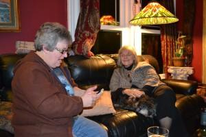 Aileen & Barb - Two dear friends
